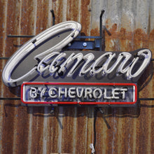 Load image into Gallery viewer, Camaro by Chevrolet neon sign 02