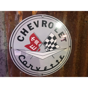 Chevrolet Corvette Vintage Sign