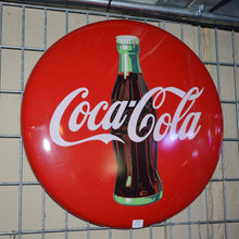 Load image into Gallery viewer, Coca-Cola Circular Sign Vintage Sign-1