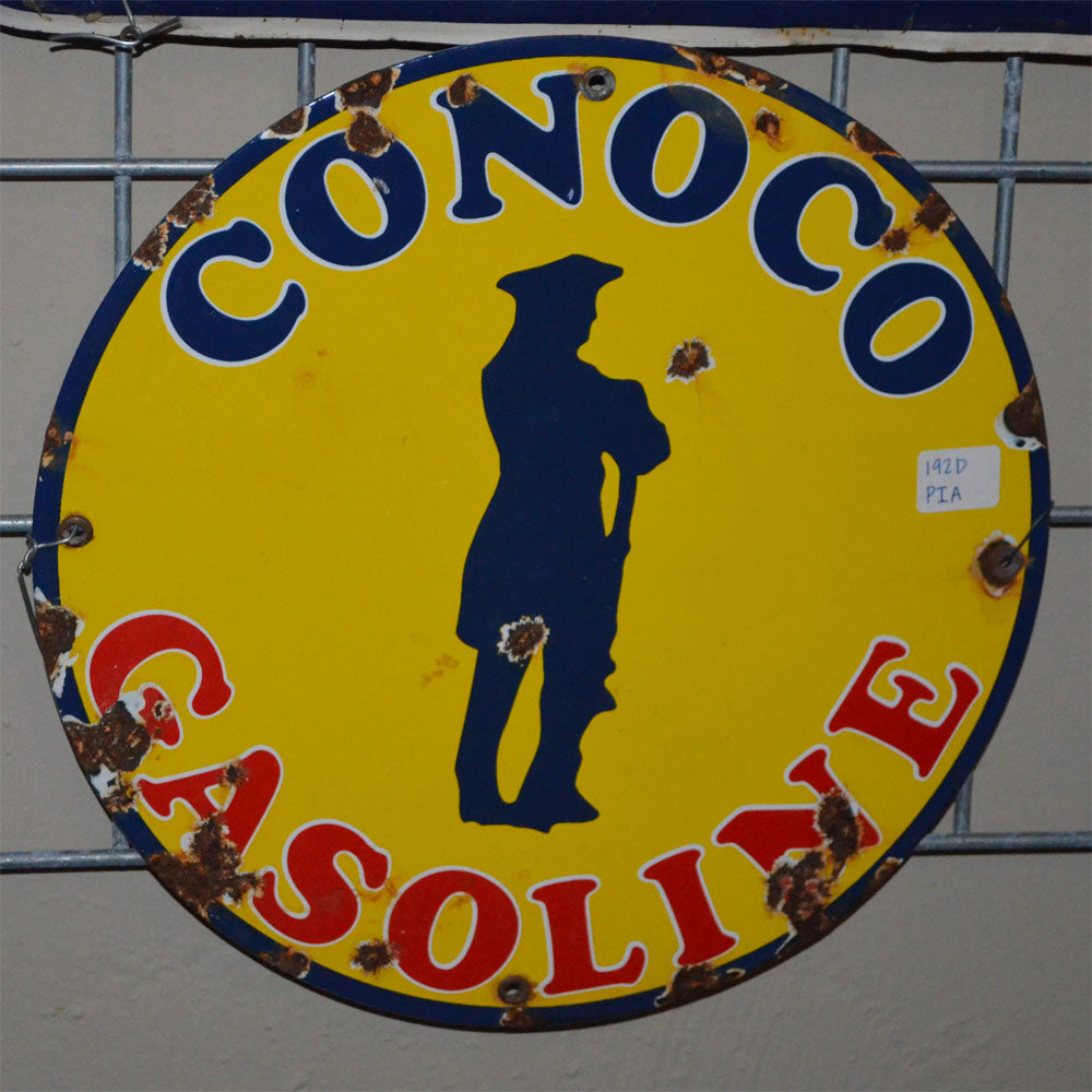 Conoco Gasoline Vintage Sign