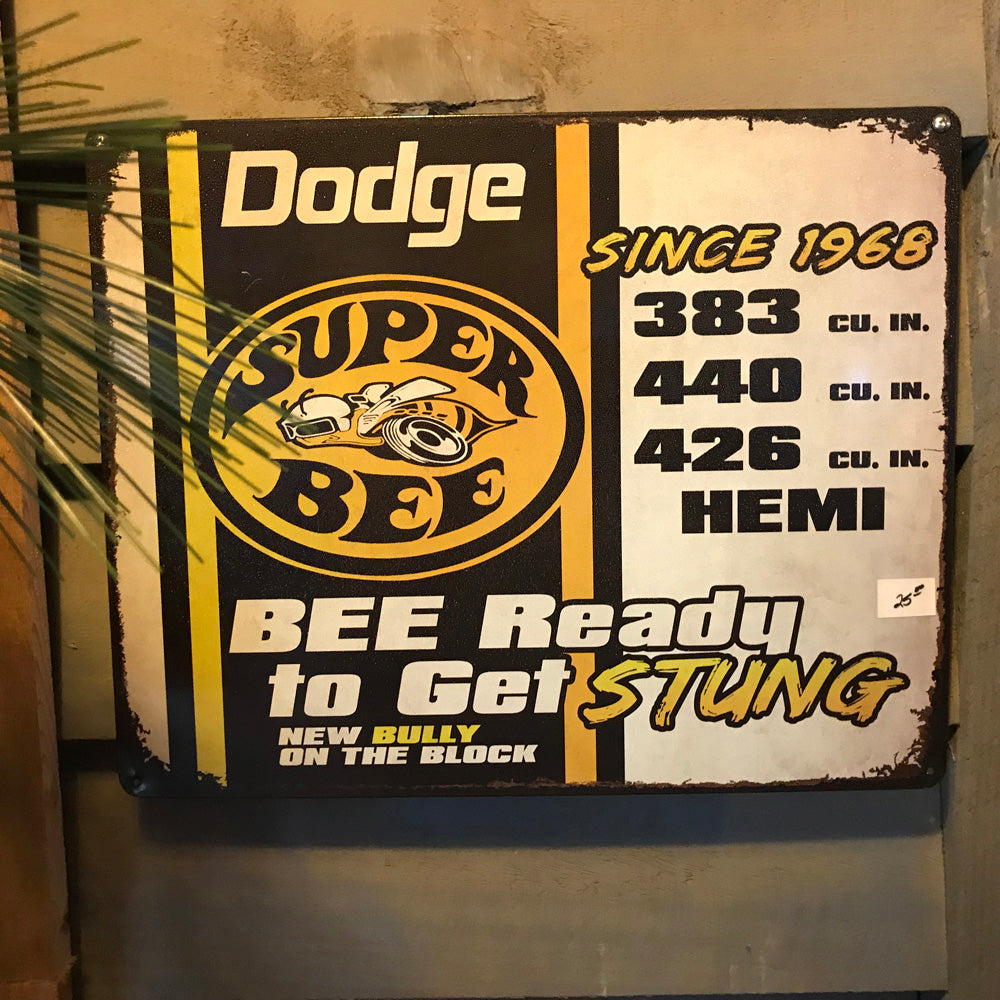 Dodge Super Bee Vintage Sign