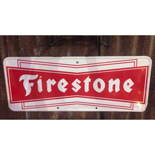 Load image into Gallery viewer, Firestone Vintage Sign
