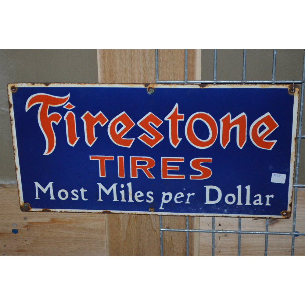 Firestone Tires Vintage Sign
