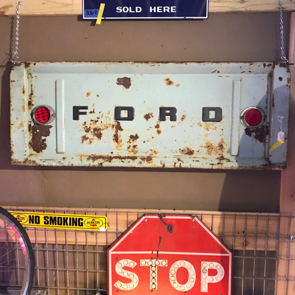 Ford Tailgate Auto Parts Wall Decor