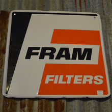 Load image into Gallery viewer, Fram Filters Vintage Sign