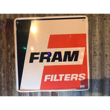 Load image into Gallery viewer, Fram Filters Vintage Sign 02