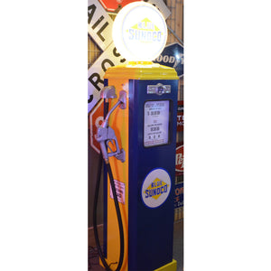 Sunoco Yellow & Blue Gas Pump 01