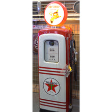 Load image into Gallery viewer, Texaco Red & White Gas Pump 02