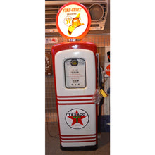 Load image into Gallery viewer, Texaco Red & White Gas Pump 03