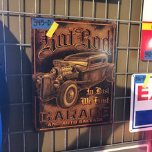 Load image into Gallery viewer, Hot Rod Garage Vintage Sign 02