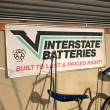 Load image into Gallery viewer, Interstate Batteries Vintage Sign