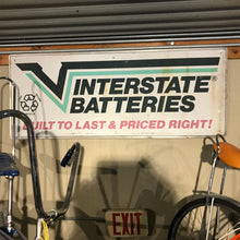 Load image into Gallery viewer, Interstate Batteries Vintage Sign 02