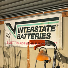 Load image into Gallery viewer, Interstate Batteries Vintage Sign 03