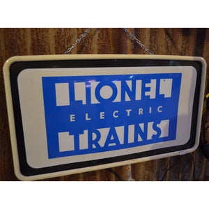Lionel Trains Vintage Sign