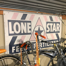 Load image into Gallery viewer, Lone Star Feed & Fertilzer Vintage Sign