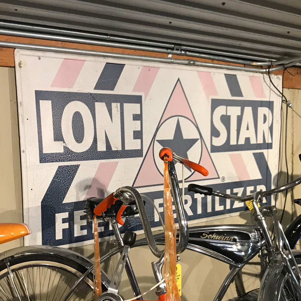 Lone Star Feed & Fertilzer Vintage Sign