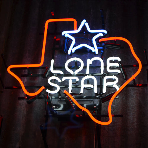 Lone Star Brand neon sign