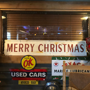 Merry Christmas Vintage Sign