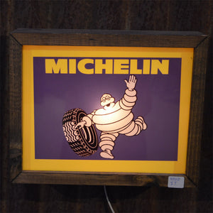 Michelin Lighted Vintage Sign