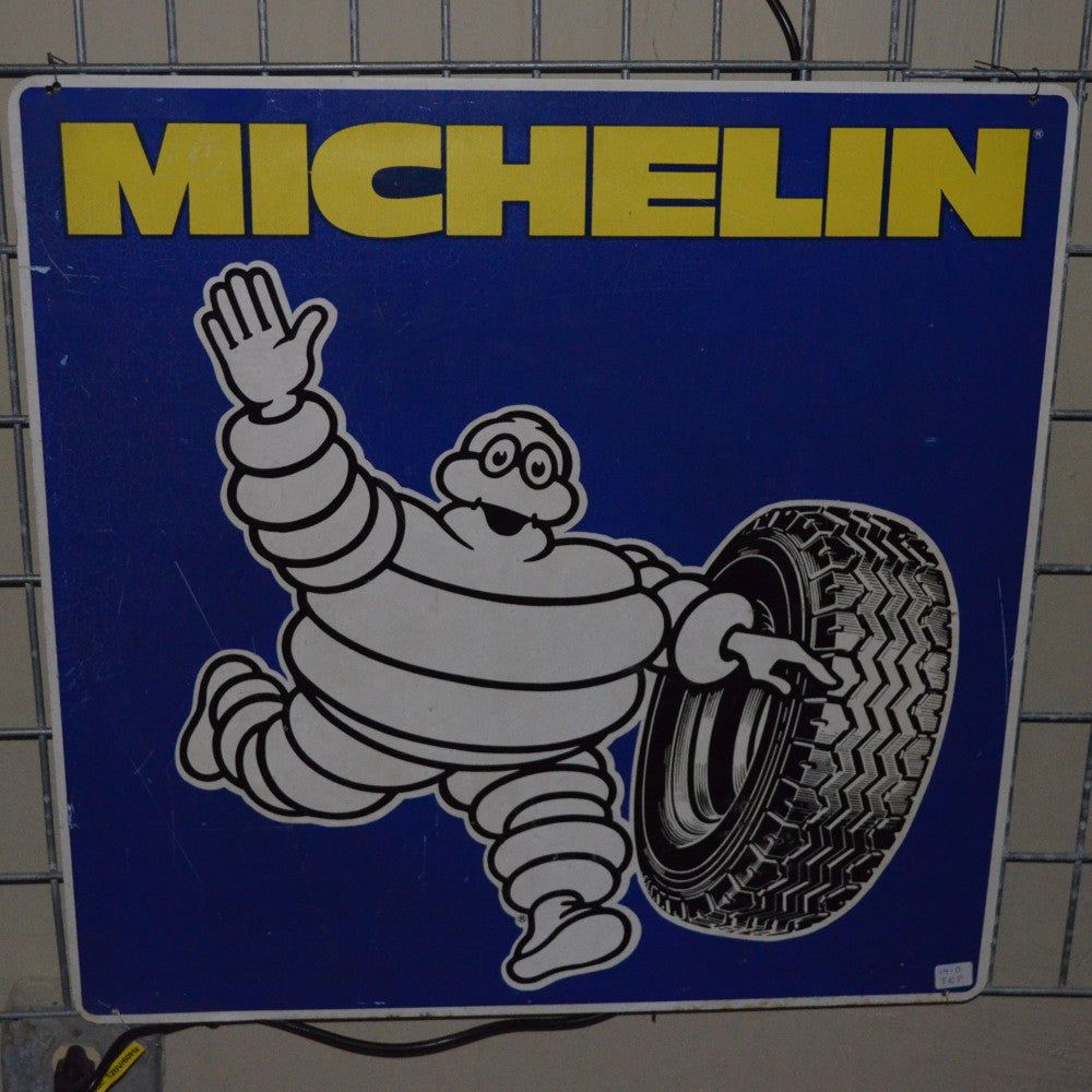 Michelin Square Vintage Sign