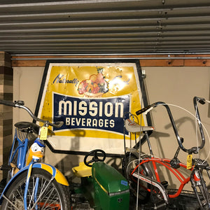 Mission Beverages Vintage Sign