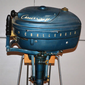 Chris Craft Challenger Used Outboard Motor 07