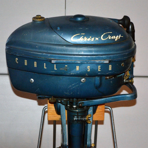 Chris Craft Challenger Used Outboard Motor 08