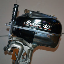 Load image into Gallery viewer, Martin 40 Black Used Outboard Motor 08