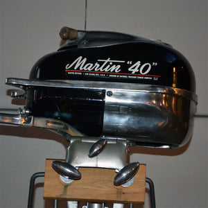 Martin 40 Black Used Outboard Motor 20