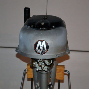 Martin 40 Silver Used Outboard Motor 03