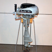 Load image into Gallery viewer, Martin 40 Silver Used Outboard Motor 04