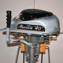 Load image into Gallery viewer, Martin 40 Silver Used Outboard Motor 06