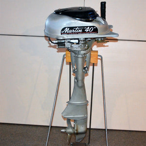 Martin 40 Silver Used Outboard Motor 07