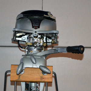 Martin 40 Silver Used Outboard Motor 14