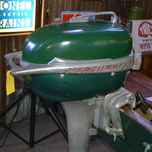 Mercury Super 10 Hurricane Used Outboard Motor 04