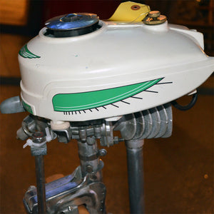 Sears Waterwitch Used Outboard Motor 04