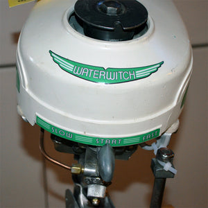 Sears Waterwitch Used Outboard Motor 09