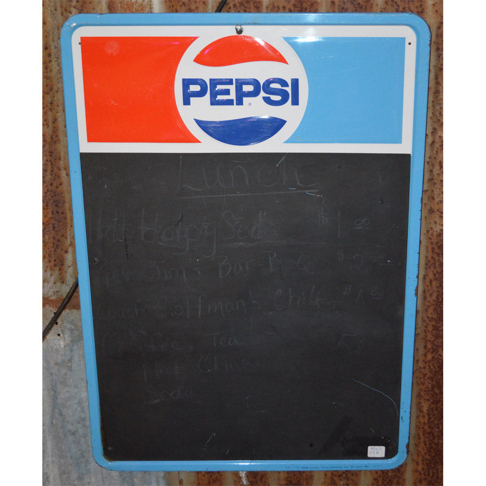 Pepsi Chalk Board Vintage Sign