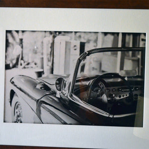 Vintage Sports Car Framed Photo