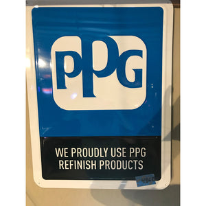 PPG Finish Products Vintage Sign