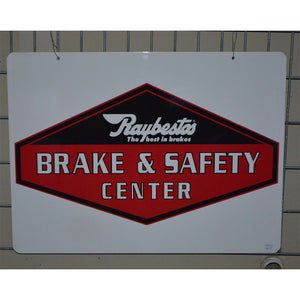 Raybestos Break And Safety Vintage Sign