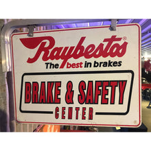Load image into Gallery viewer, Raybestos Brakes Vintage Flange Sign