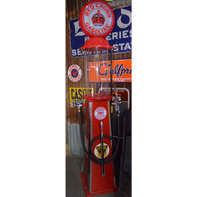 Load image into Gallery viewer, Red Crown Visible Gas Pump 01