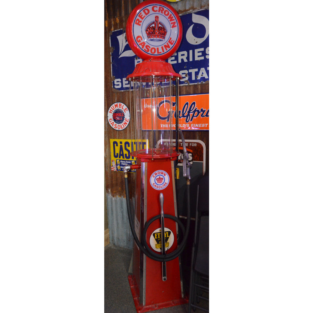 Red Crown Visible Gas Pump 01