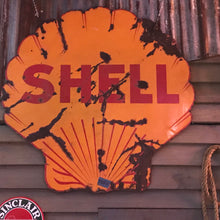 Load image into Gallery viewer, Shell Oil Vintage Sign