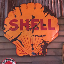 Load image into Gallery viewer, Shell Oil Vintage Sign 02