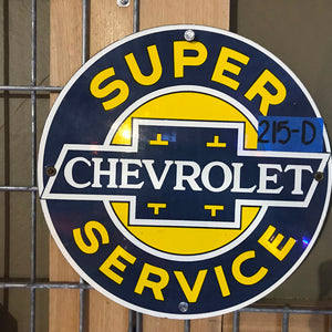 Super Chevy Service Vintage Sign