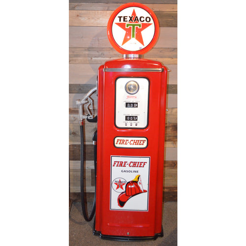 Texaco Red Gas Pump 01