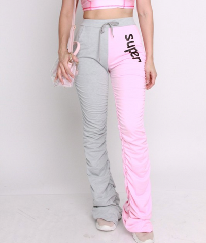 Chloe' | Ruched Sweatpants