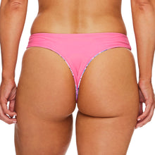 Load image into Gallery viewer, Miss Boracay / Palm blue pink luxury bikini bottom